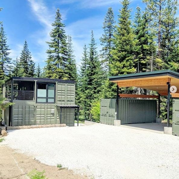Cascadia Container Residence - USA - Living in a Container on Cascadia Outdoor Living Spaces id=36813