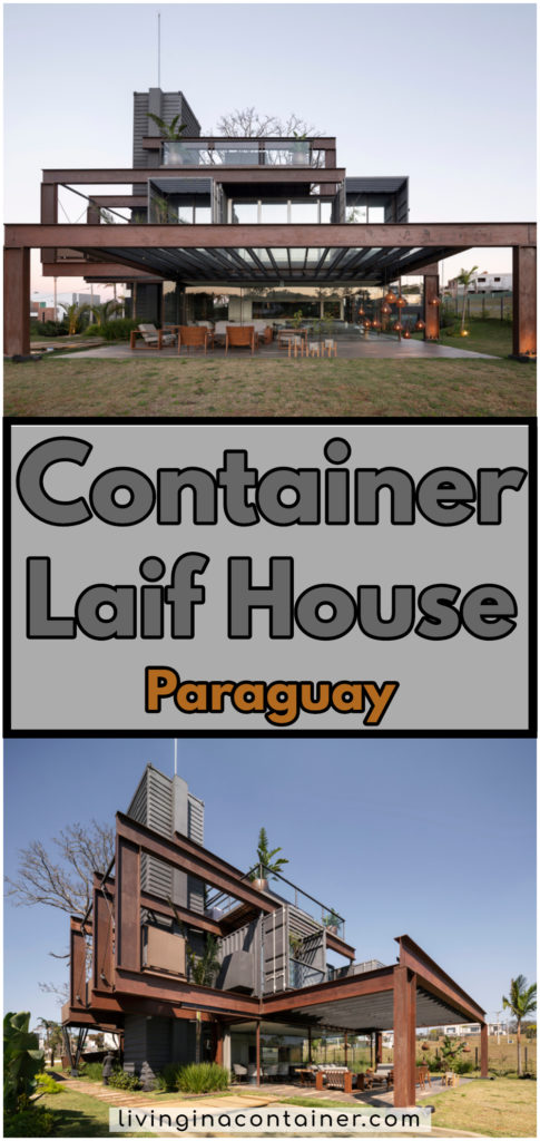 Container Laif House by BAUEN – Paraguay 11