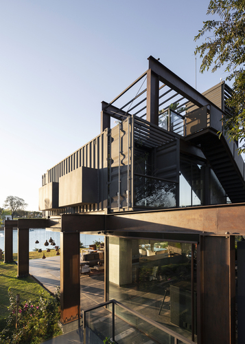 Container Laif House by BAUEN – Paraguay 3