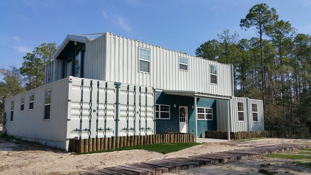 4000 Sqft. Shipping Container Home in Florida 2