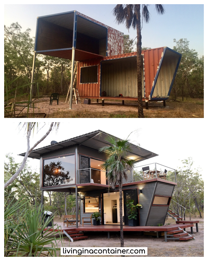 Cool Shipping Container Homes: The Magnificent Hideaway Litchfield Container Cabin In