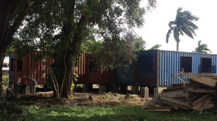 Shipping Containers Found a New Life as Home in Florida 4