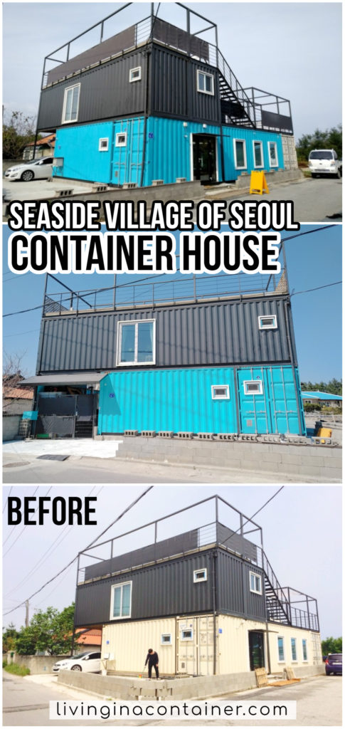 Container House Located Seoul