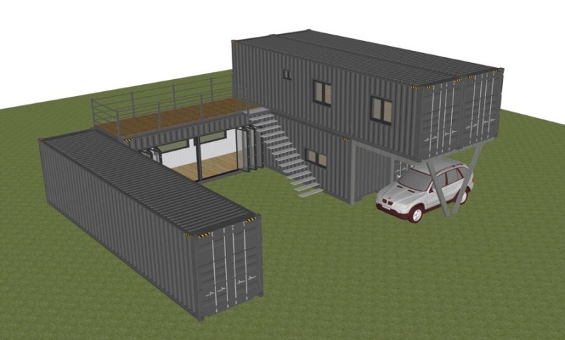 Container House Located in the Seaside Village of Seoul 36