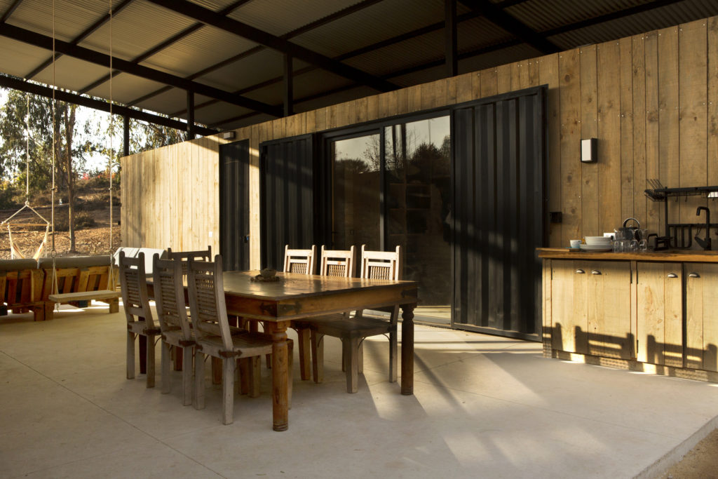 Conversion of Shipping Containers to Wonderful Home in Chile 2