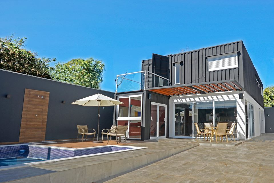 Cool Valley Container House from Brazil 1
