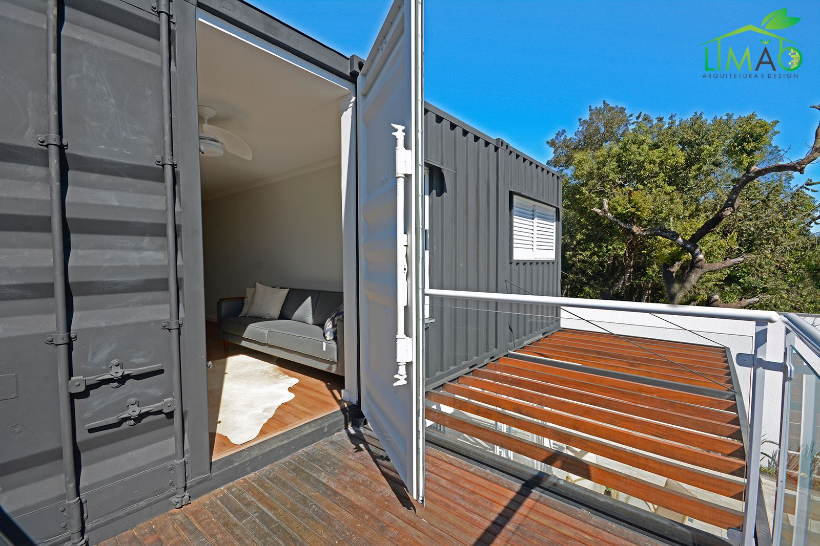 Cool Valley Container House from Brazil 17