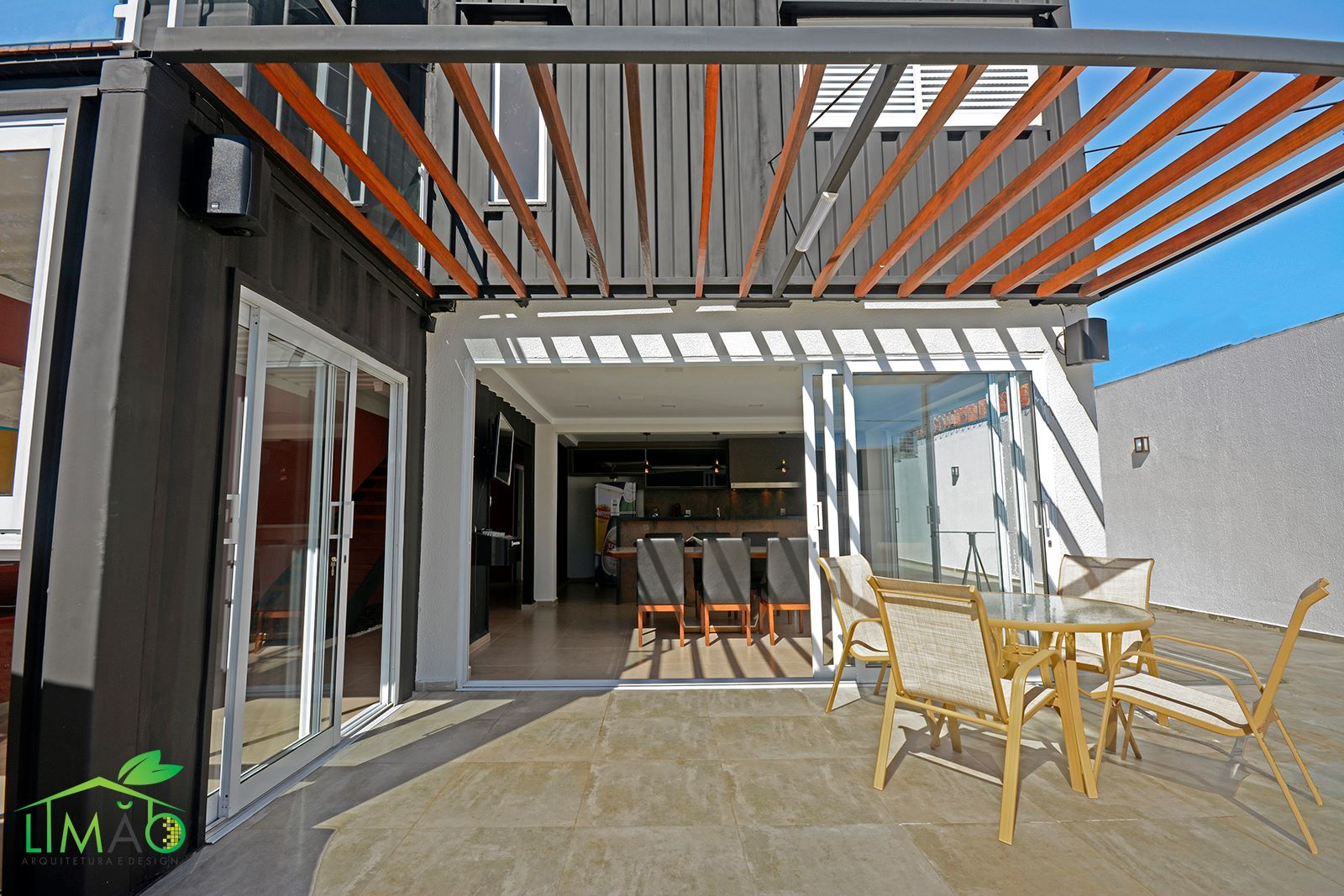 Cool Valley Container House from Brazil 20
