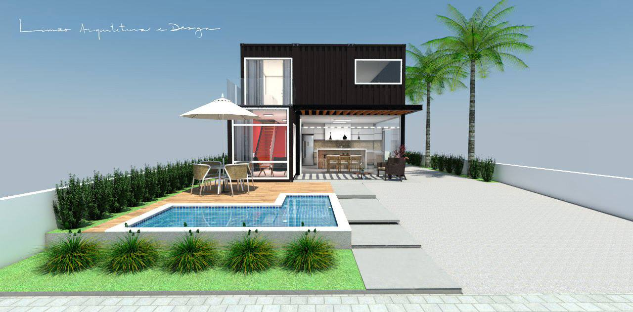 Cool Valley Container House from Brazil 28