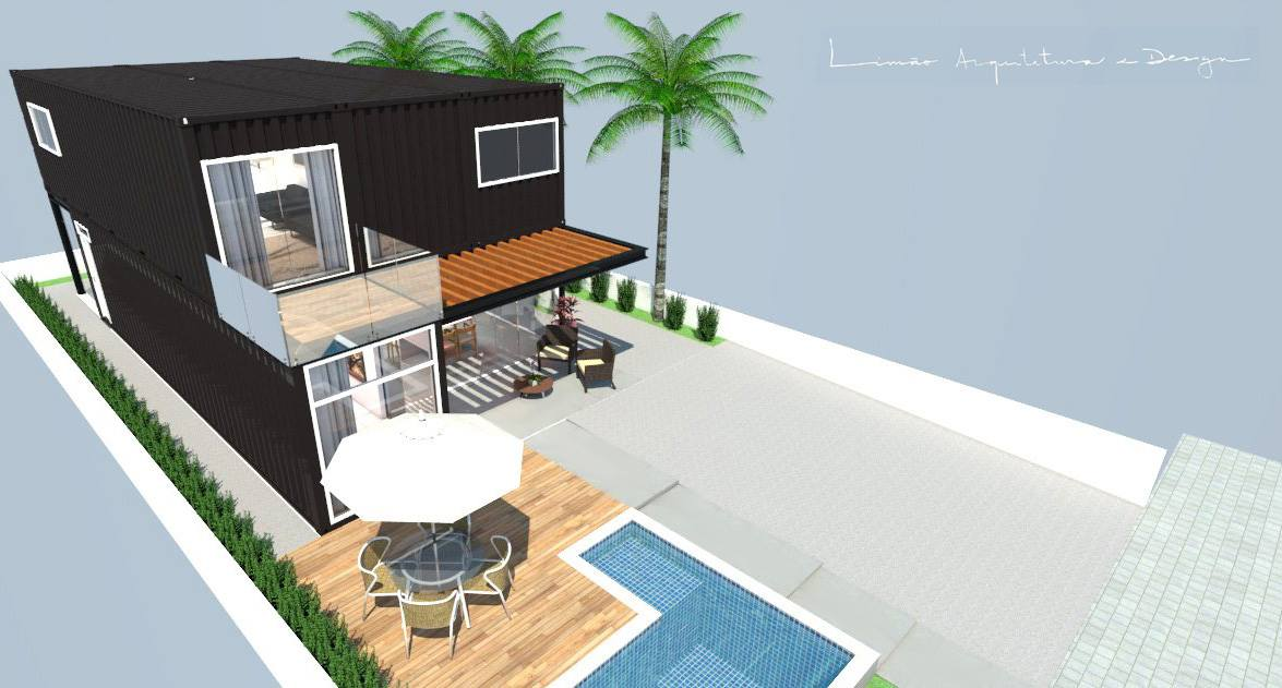 Cool Valley Container House from Brazil 29