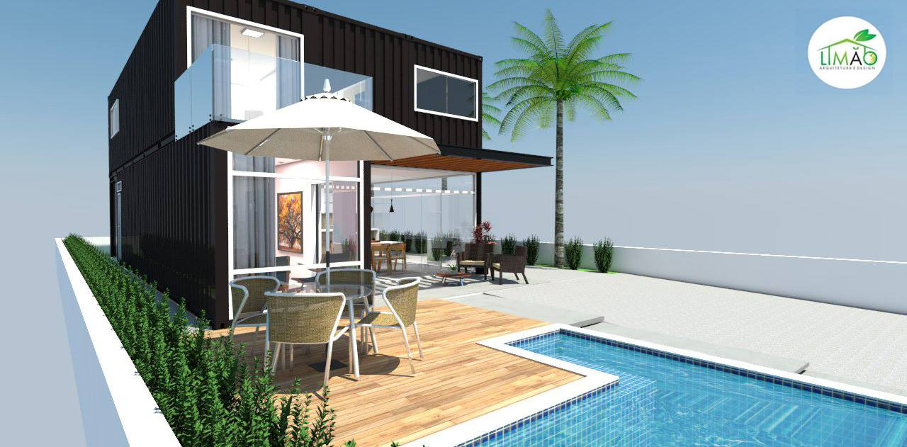 Cool Valley Container House from Brazil 30