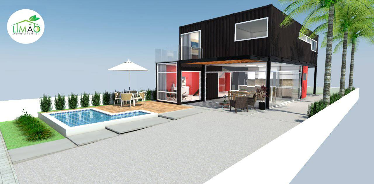 Cool Valley Container House from Brazil 31