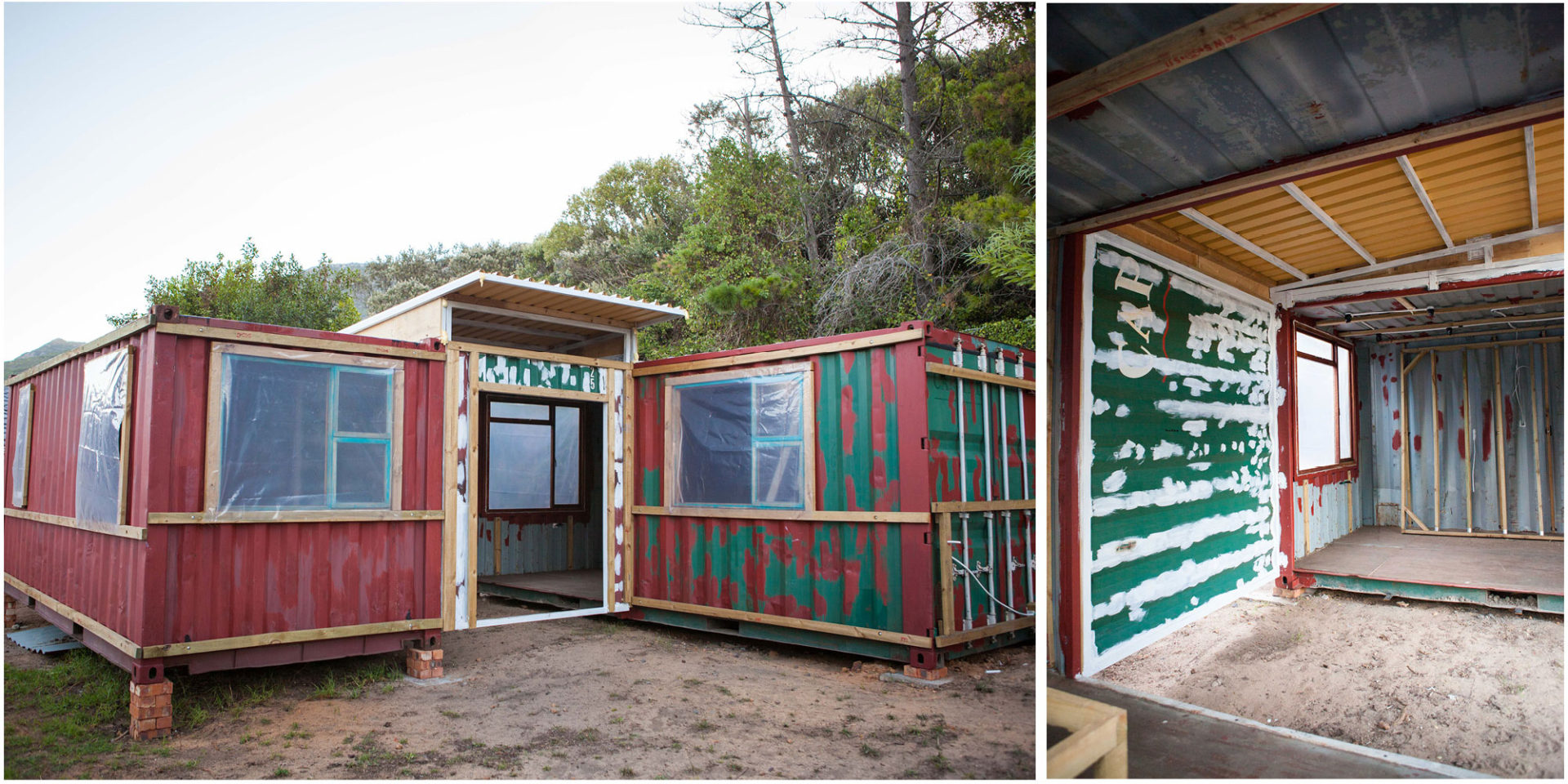 Low Budget Container House from South Africa 11