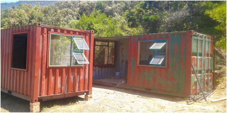 Low Budget Container House from South Africa 123