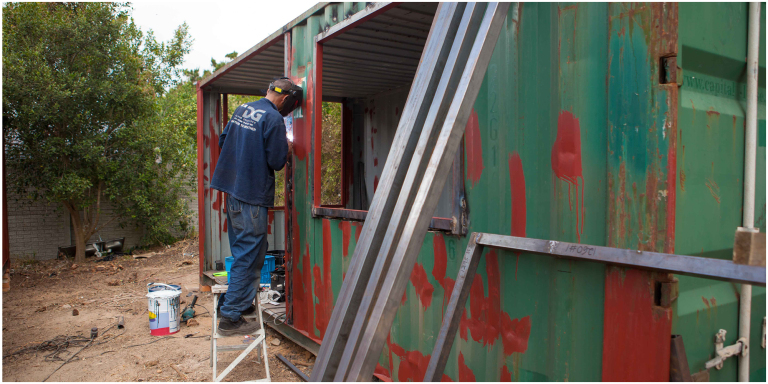 Low Budget Container House from South Africa 24