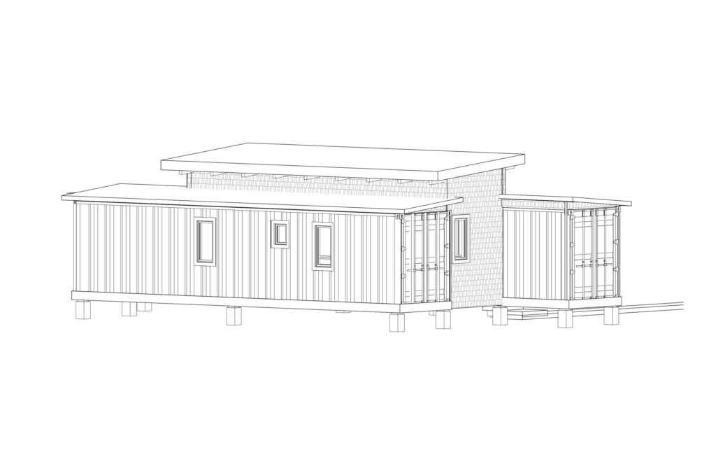 Simple But Cool Looking 175000 Container House The De Lux 18