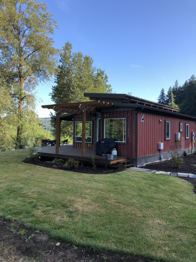 Simple But Cool Looking 175000 Container House The De Lux 2