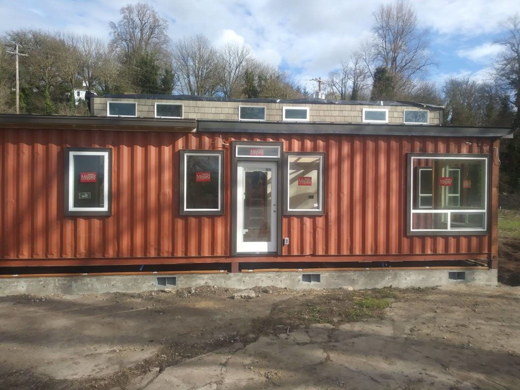 Simple But Cool Looking 175000 Container House The De Lux 22