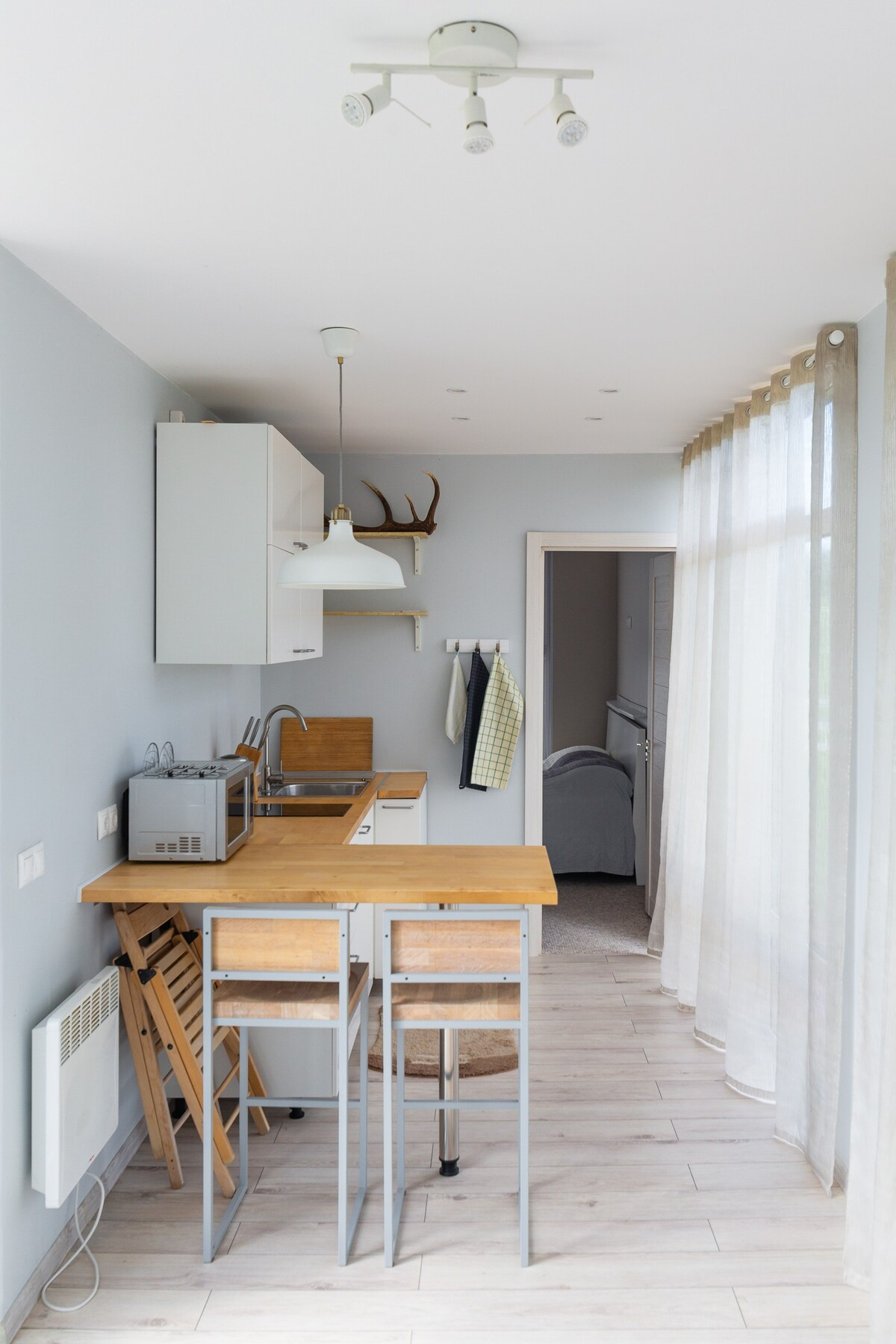 Stylish Small and Very Cozy House from the Sea Container in Moscow 3