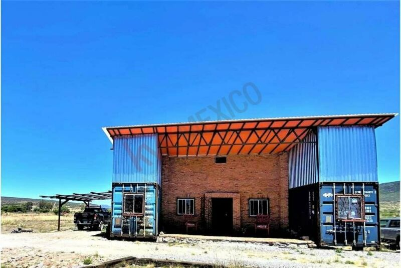 Unique Container House from Mexico 1