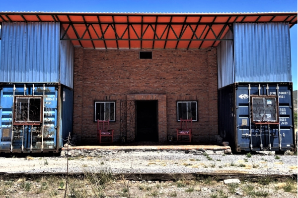 Unique Container House from Mexico 20