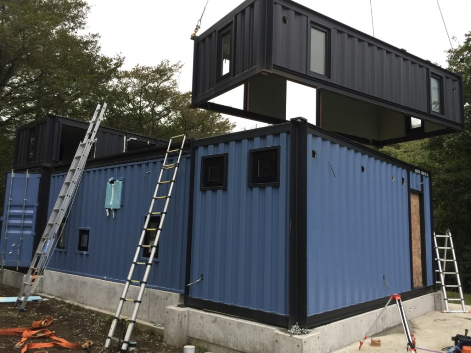 Wonderful Container House in the Unique Nature of Japan 16