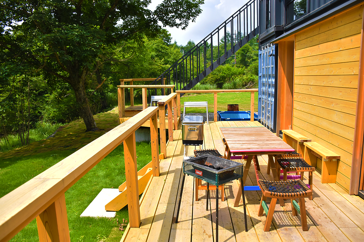 Wonderful Container House in the Unique Nature of Japan 8