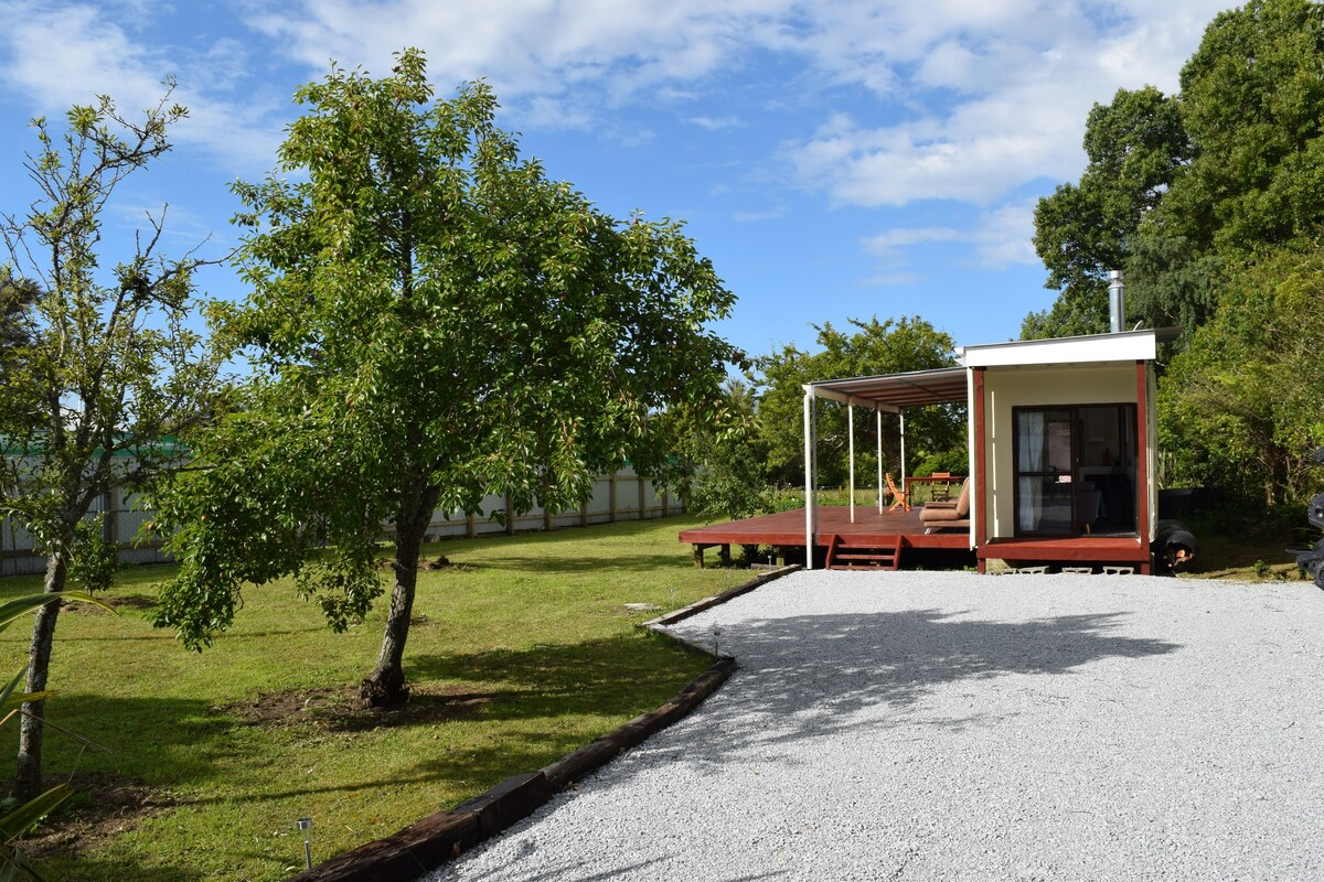 Wonderful Deck Container House in the New Zealand Forest 21