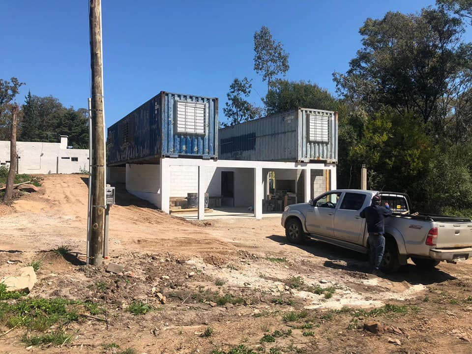 Wooden Covered Container House from Uruguay 18