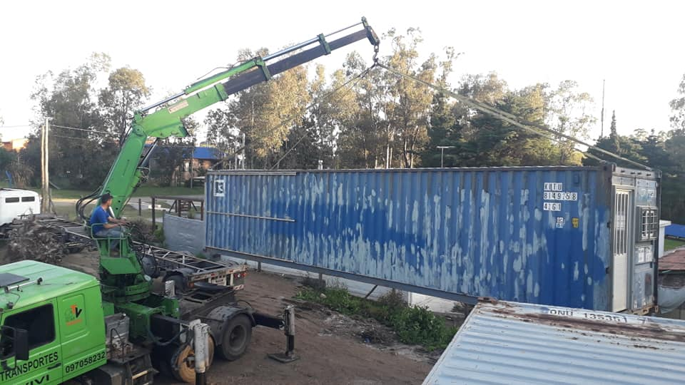 Wooden Covered Container House from Uruguay 24