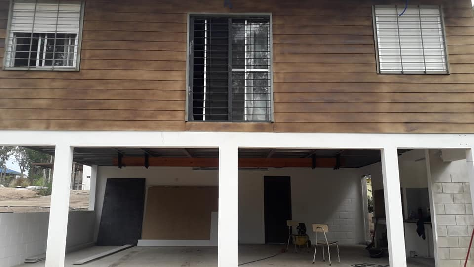Wooden Covered Container House from Uruguay 26
