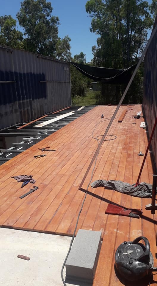 Wooden Covered Container House from Uruguay 28
