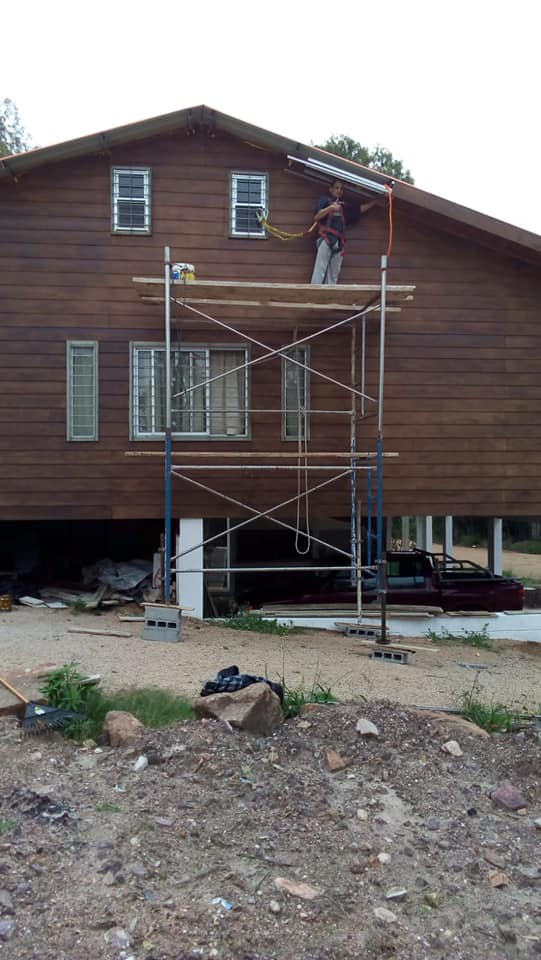 Wooden Covered Container House from Uruguay 31