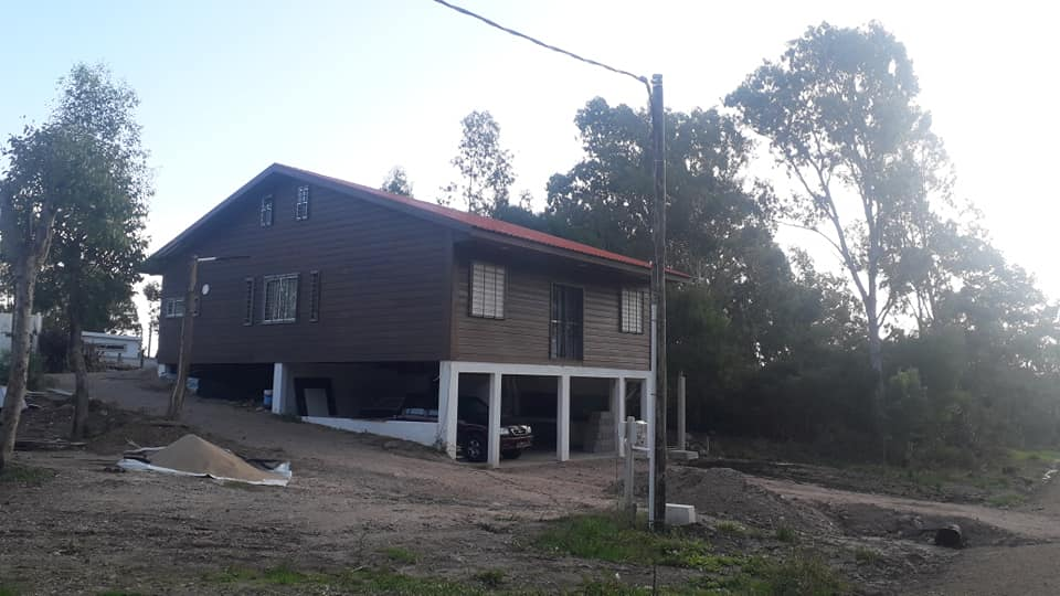 Wooden Covered Container House from Uruguay 33