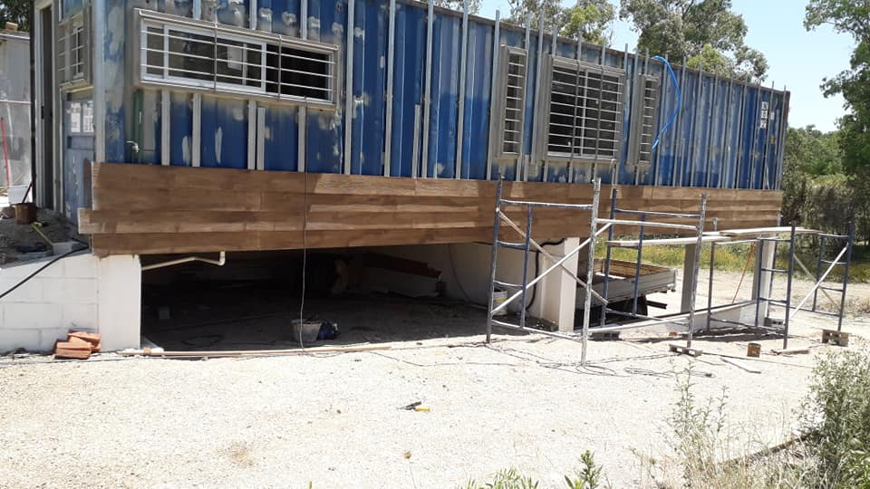 Wooden Covered Container House from Uruguay 5