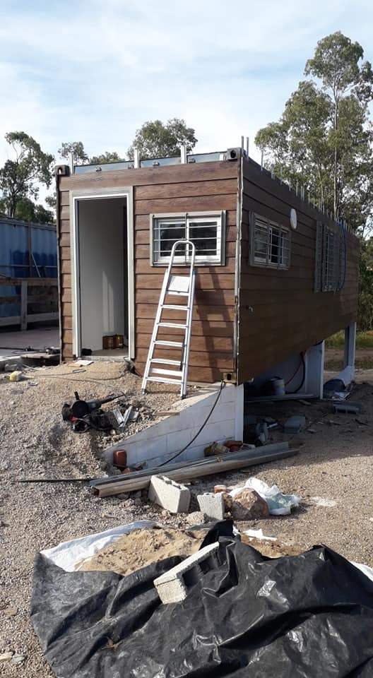 Wooden Covered Container House from Uruguay 8