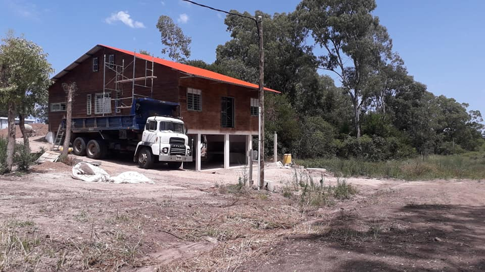 Wooden Covered Container House from Uruguay 9